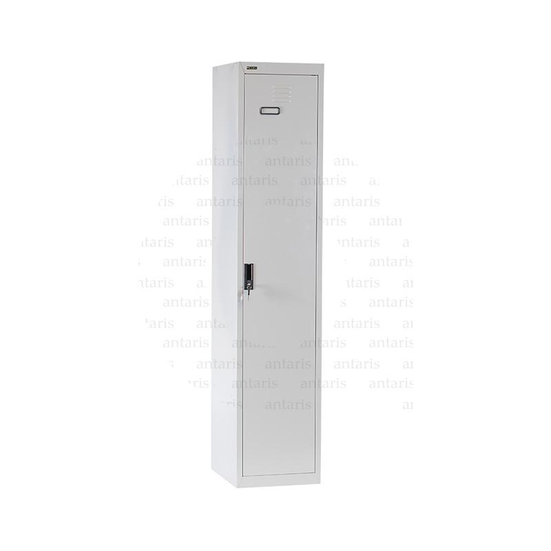 Paltar Dolabı, 1 qapılı, asılqanlı, 1802mm375mm458mm, 201ST rexel_single_door_locker_180x37.5x46_cm._rxl201st_grey_