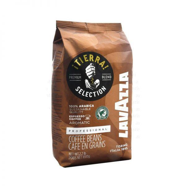 Kofe 1kq Tierra 100% Arabica Lavazza