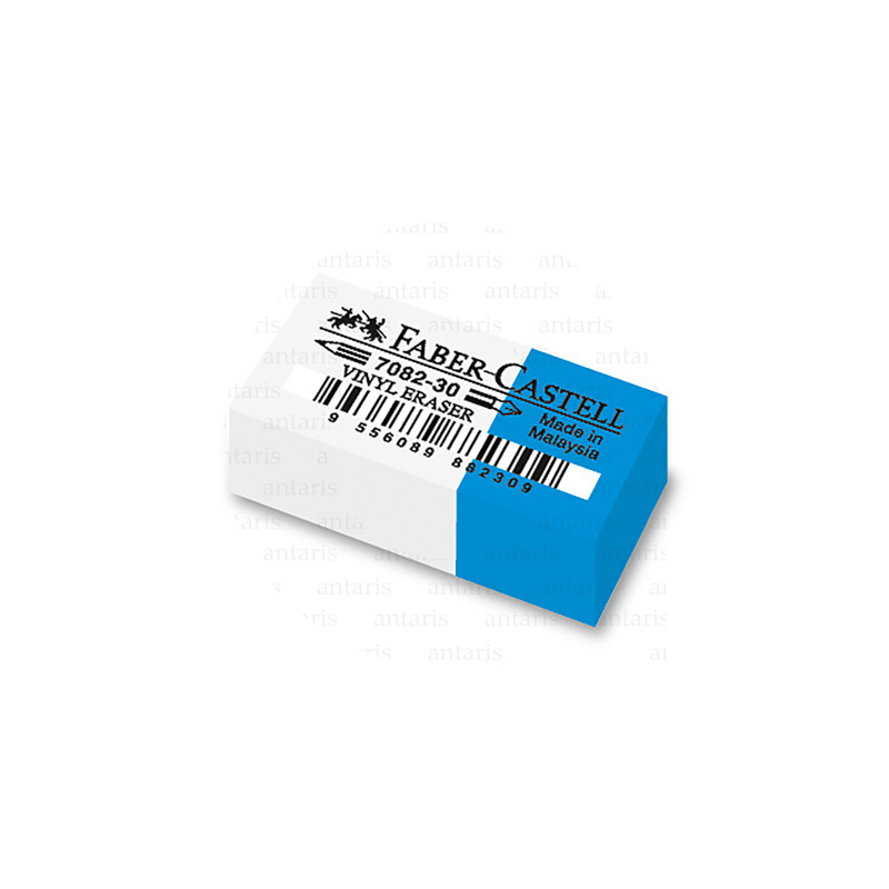 188230_7082-30 Combi eraser, blue-white, pozan