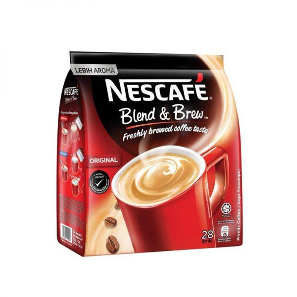 Kofe 3in1 qırmızı Nescafe-2