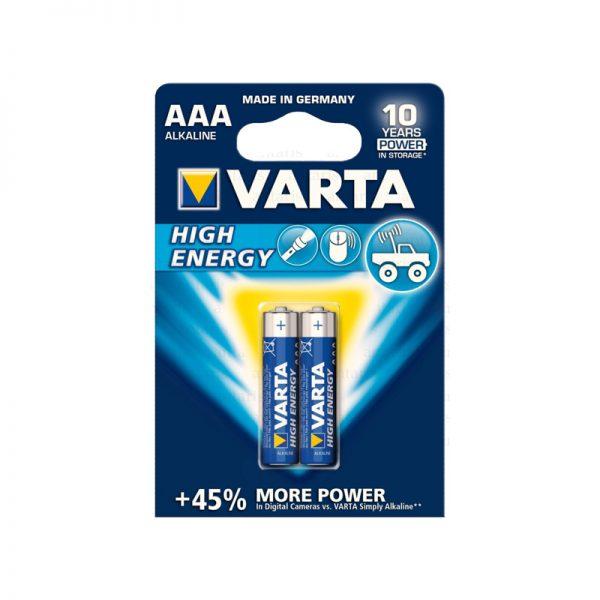 Batareya AAA - Longlife Extra 1x2 Varta