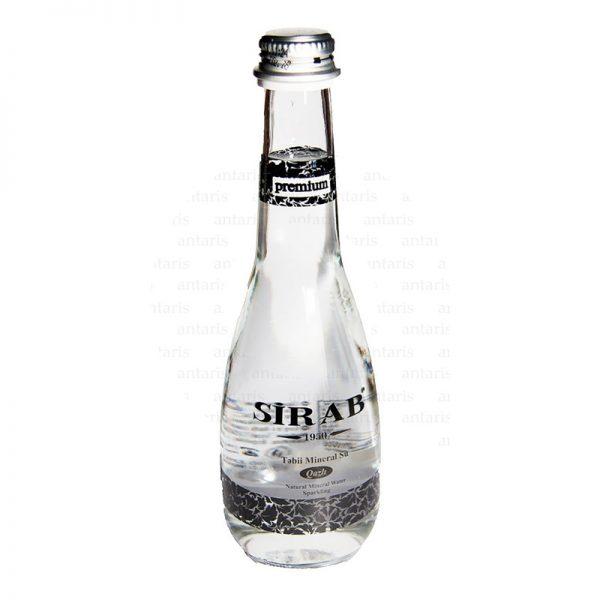 Mineral su qazlı 0.33lt şüşə qabda Sirab (Premium)