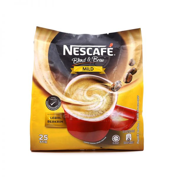 Kofe 3in1 sarı Nescafe