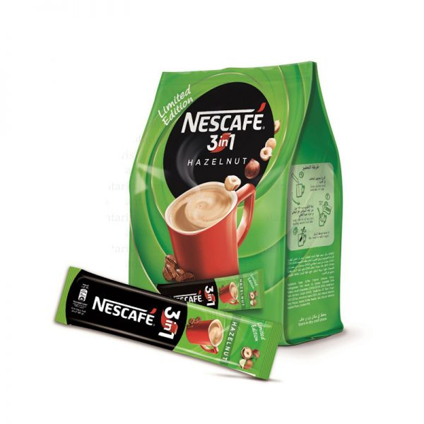 Kofe 3in1 yaşıl Nescafe