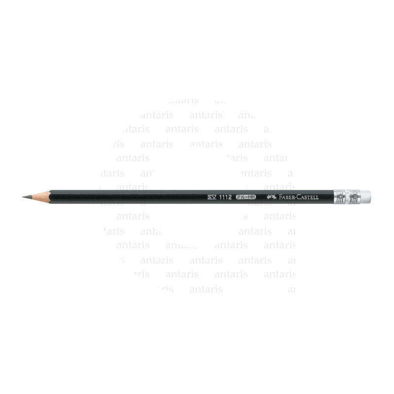 111200_1112 graphite pencil with eraser, HB