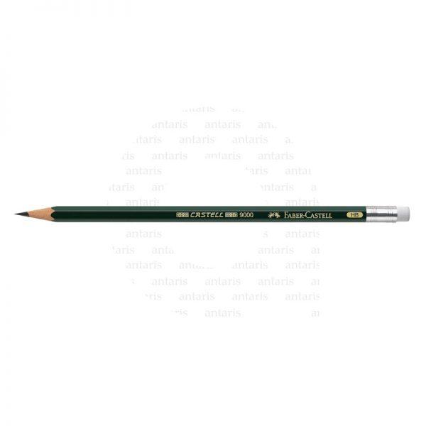 119200_Castell 9000 graphite pencil with eraser,HB