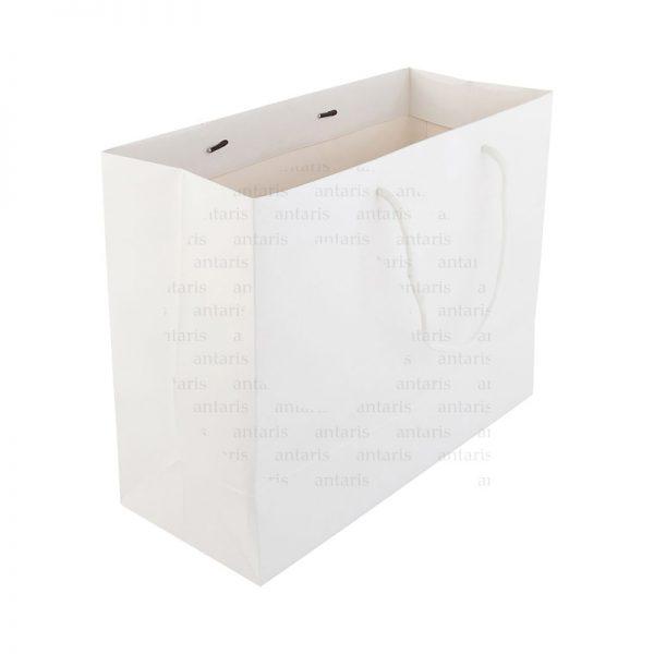 Karton çanta horizontal 430x320x100mm 250qm bristol