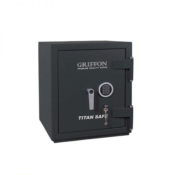 Seyf Griffon, 606x500x500mm, 145kq, odadavamlı və qarətədavamlı CL.II 60.K.E