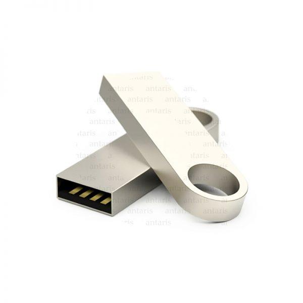 USB fləşkart halqa metal 16gb qutulu