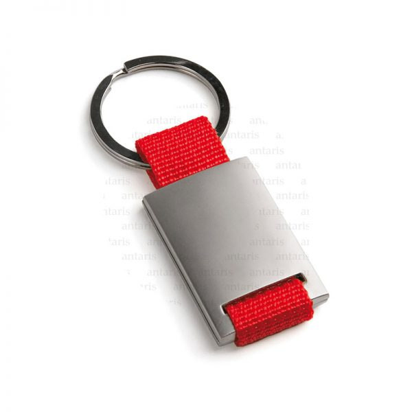 Brelok metal qırmızı