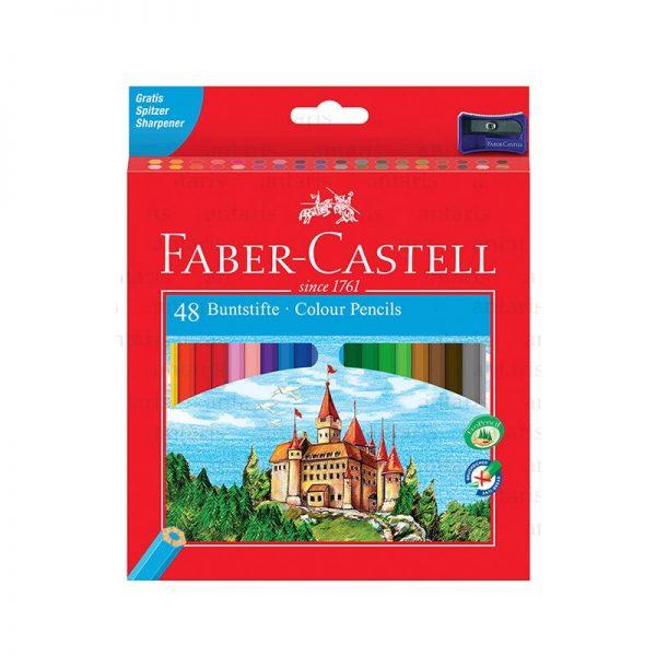 Karandaş 48rəng Faber-Castell