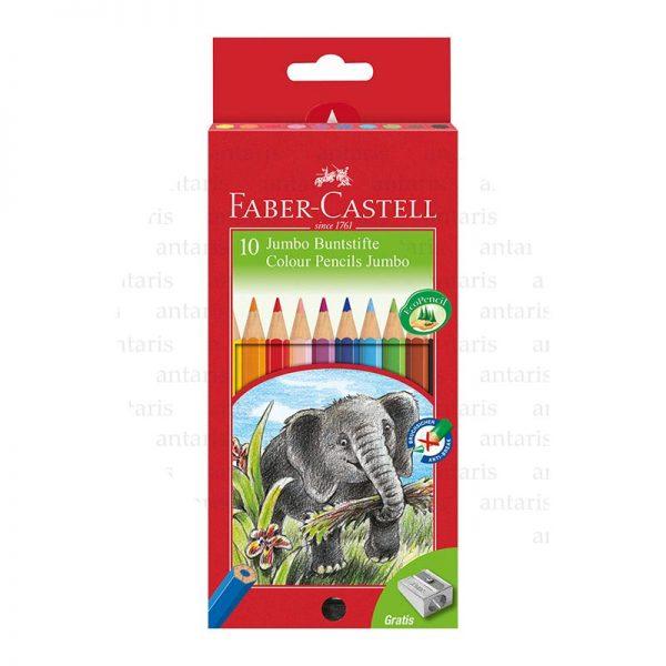 Karandaş 10rəng Faber-Castell