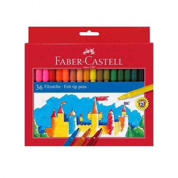 Flomaster 36 rəng Faber-Castell