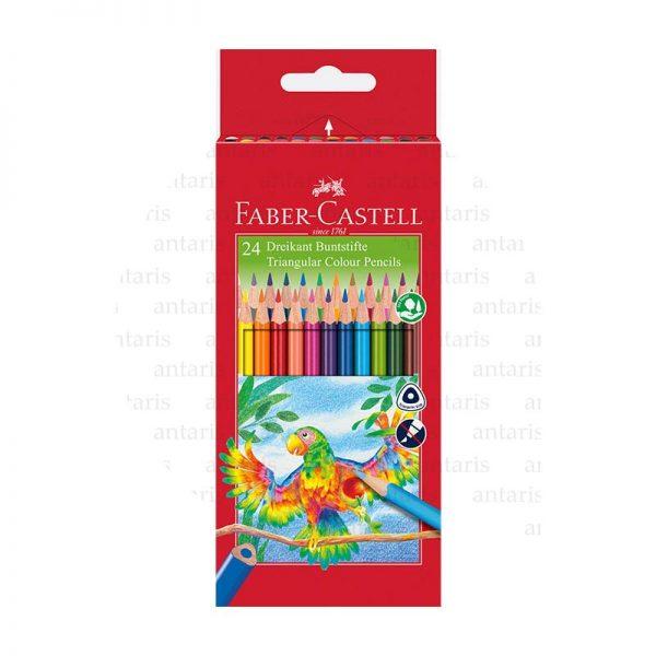 Karandaş 24rəng Faber-Castell