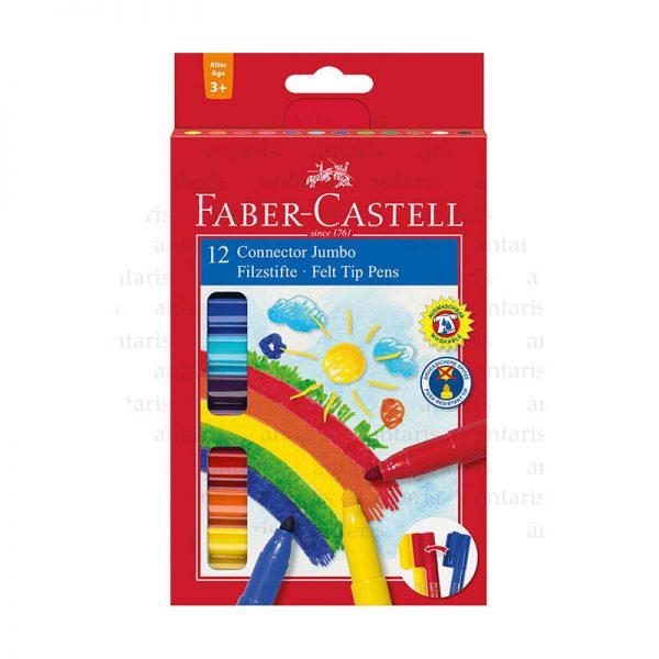 Flomaster 12 rəng Faber-Castell