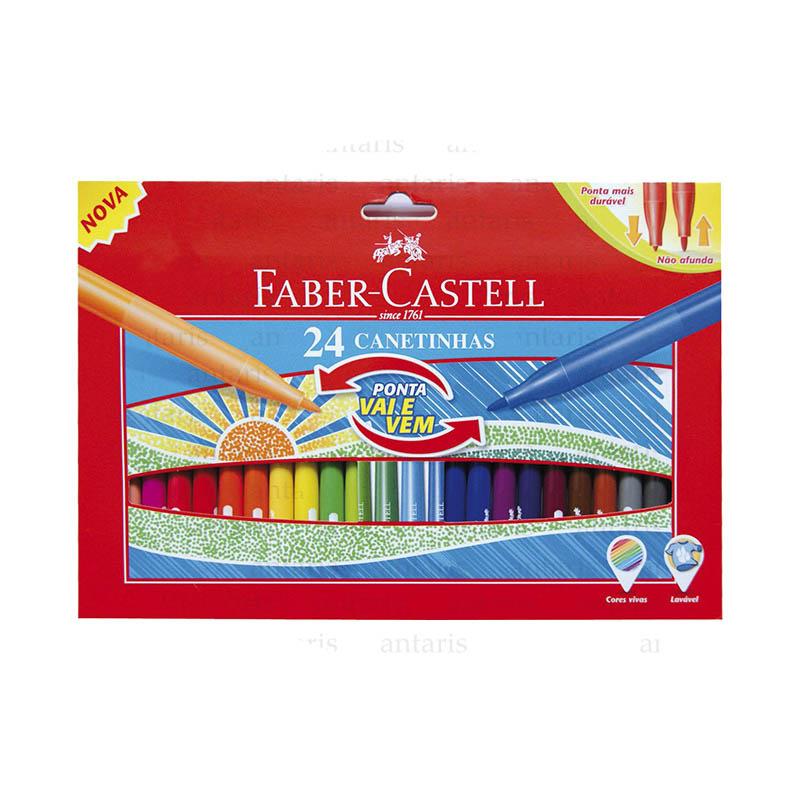 Flomaster 24 rəng Faber-Castell