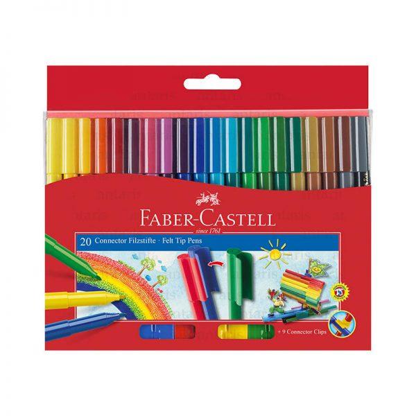 Flomaster 20 rəng Faber-Castell