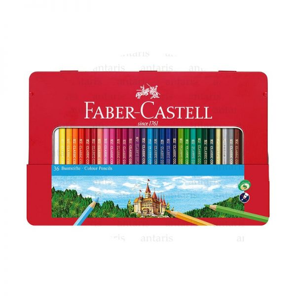 Karandaş permanent 36rəng Faber-Castell