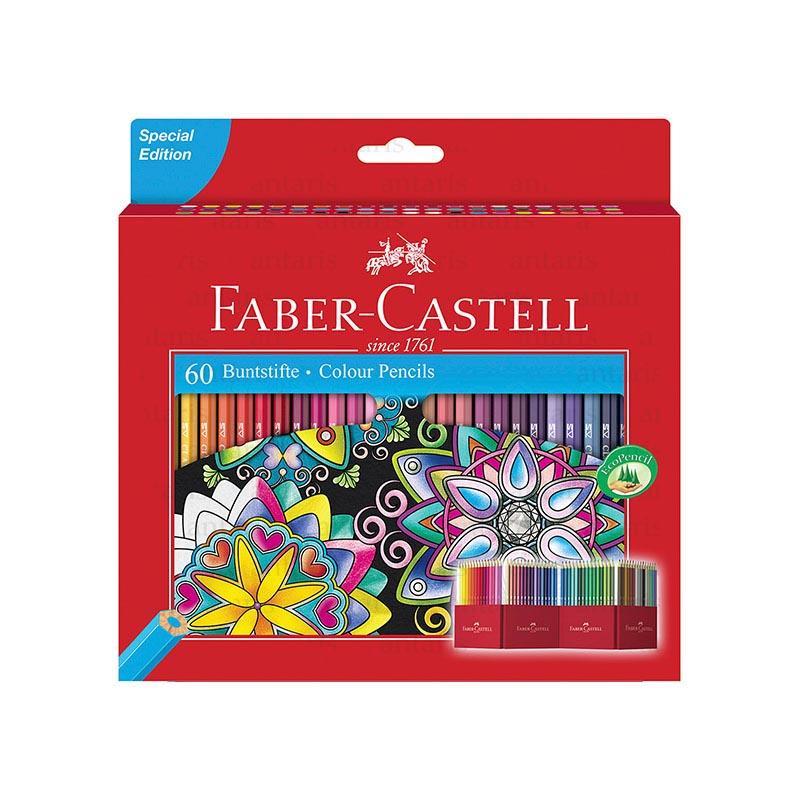 Karandaş 60 rəng Faber-Castell