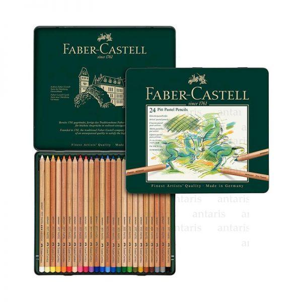 Karandaş 24rəng pastel Faber-Castell