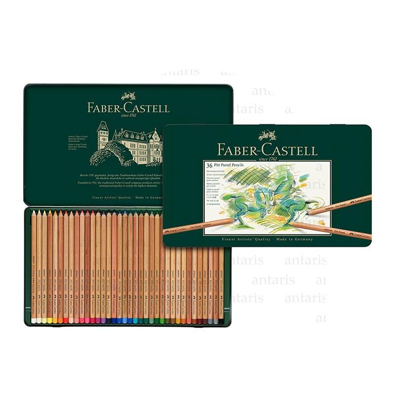 Karandaş 36rəng pastel Faber-Castell