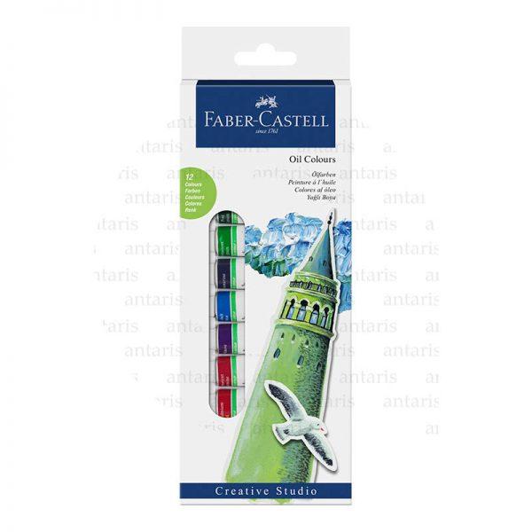 Boya yağlı 12rəng Faber-Castell
