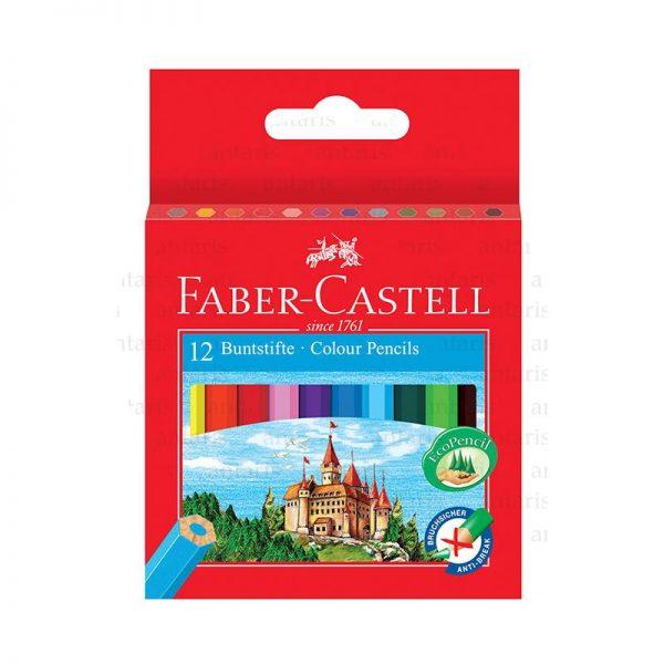 Karandaş 12rəng mini Faber-Castell