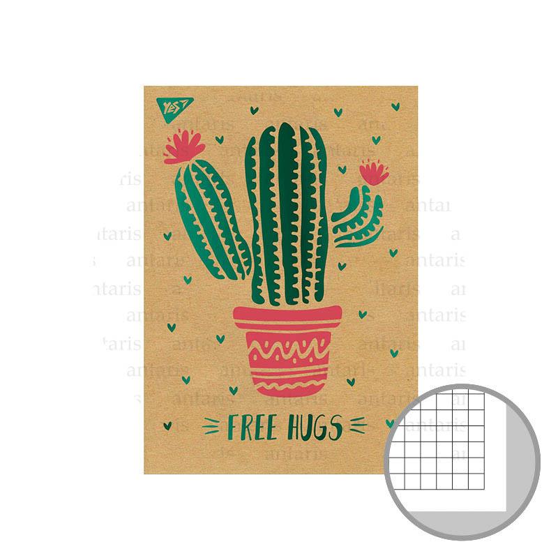 Bloknot Tropico. Cactus YES