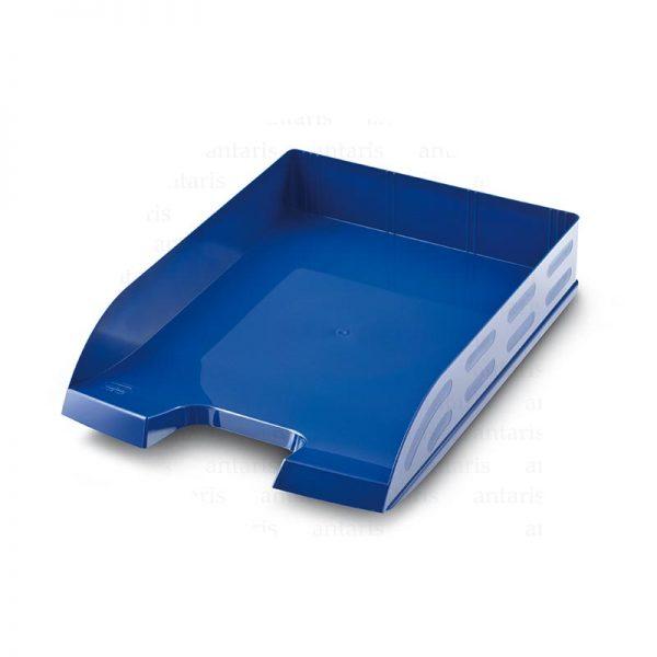 825 Sənəd rəfi 1x1 horizontal plastik mavi MAS