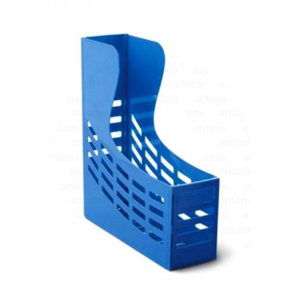 840 Sənəd rəfi 1x1 vertikal plastik mavi Mas