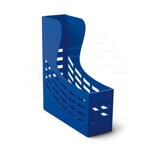 842 Sənəd rəfi 1x1 vertikal plastik mavi 842 Mas